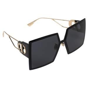 نظارة شمسية فندي 30مونتايغن مربعة أسيتات أسود