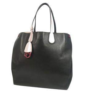 """حقيبة يد ديور """"اديكتد"""" جلد أسود"""