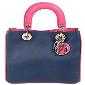 Dior Tricolor Leather Mini Diorissimo Bag