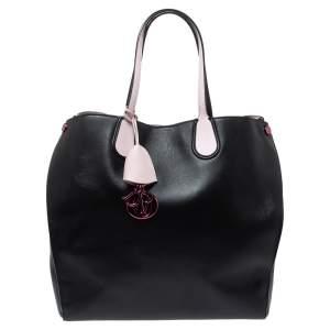 """حقيبة يد ديور """"اديكت فيرتيكال"""" جلد أسود"""