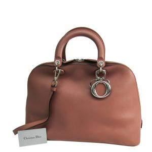 حقيبة ديور ديوريسيمو دوم جلد بنية اللون
