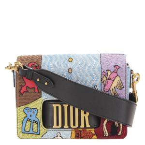 Dior Multicolor Leather Dio(r)evolution Crossbody Bag
