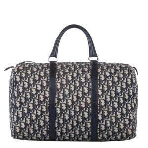 Dior Oblique Canvas Vintage Diorissimo Duffle Bag