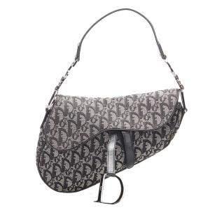 Dior Oblique Canvas Saddle Bag