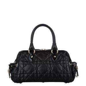 Dior Black Cannage Leather Bag
