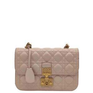Dior Pink Leather Dioraddict Shoulder Bag