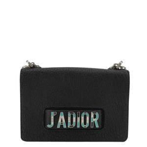 Dior Black Leather J'adior Shoulder Bag