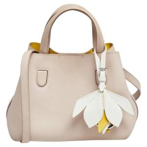 Dior Powder Pink Leather Small Blossom Tote