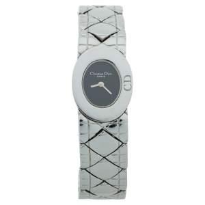 ساعة يد نسائية كريستيان ديور ليدي ديور D90-100 ستانلس ستيل سوداء 21 مم