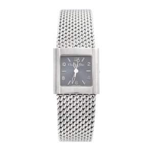 Dior Grey Stainless Steel Riva D80100 Women's Wristwatch 23 mm