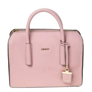 Dkny Pink Leather Sacthel