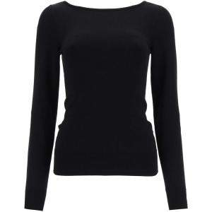 Dolce & Gabbana Black Knit Pullover Size IT 44