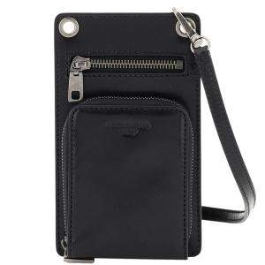 Dolce & Gabbana Black Leather Horsehide Phone bag