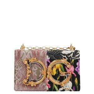 Dolce & Gabbana Multicolor Patchwork DG Girls Shoulder Bag