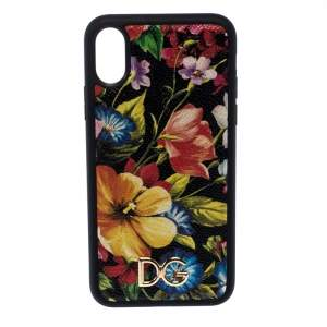 Dolce & Gabbana Black Floral IPhone XS Max Case