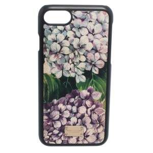 Dolce & Gabbana Multicolor Floral Print Leather iPhone 7 Case