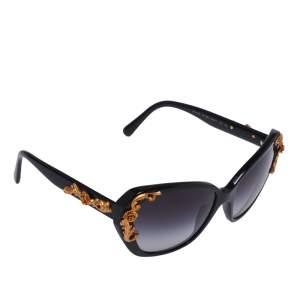 Dolce & Gabbana Black Gradient Sicilian Baroque Sunglasses