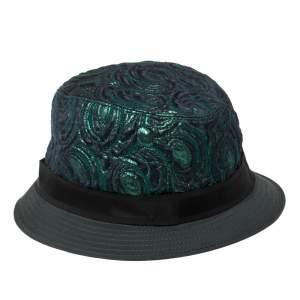 Dolce & Gabbana Bicolor Metallic Jacquard Bucket Hat