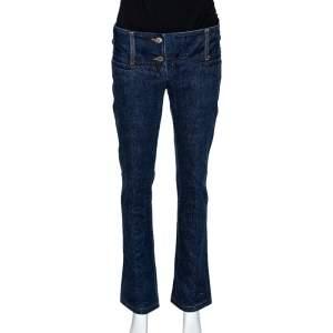 Dolce & Gabbana Indigo Denim Flared Jeans S
