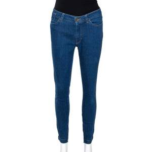 Dolce & Gabbana Indigo Denim Audrey Skinny Jeans M