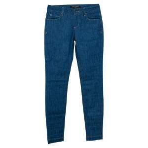 Dolce & Gabbana Indigo Denim Slim Fit Jeans XS