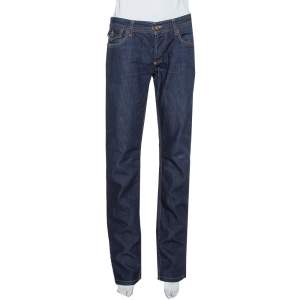D&G Navy Blue Denim Straight Leg Jeans S