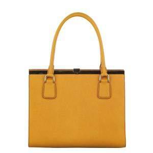 Dolce & Gabbana Brown/Light Brown Miss Sofia Leather Bag