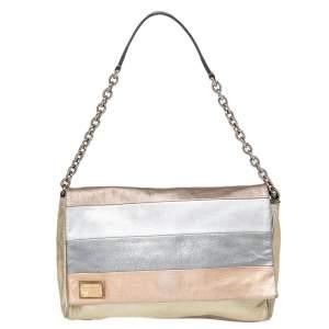 Dolce & Gabbana Multicolor Leather Miss Martini Shoulder Bag