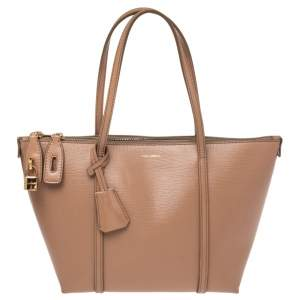 Dolce & Gabbana Beige Leather Miss Escape Tote