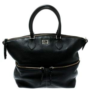 Dooney And Bourke Black Leather Satchel