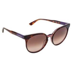 Etro Purple Havana Gradient ET660S Cat Eye Sunglasses