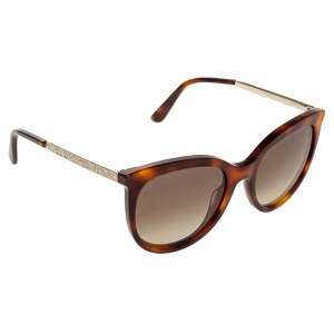 Etro Gold/Havana Gradient ET656S Cat Eye Sunglasses