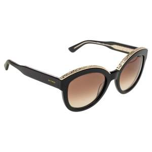 Etro Black/Gold Gradient ET604S Cat Eye Sunglasses