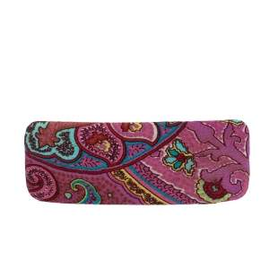 Etro Printed Fabric Barrette Hair Clip