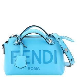 Fendi Blue Leather Fendi By The Way Mini Bag