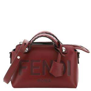 Fendi Brown Leather Mini By The Way Bag