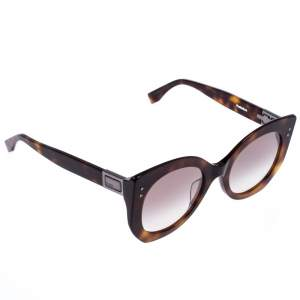 Fendi Brown Tortoise FF 0265/S Peekaboo Sunglasses