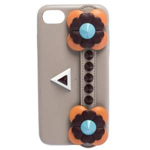 Fendi Multicolor Leather Flowerland iPhone 7 Case
