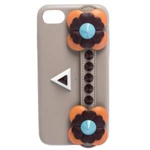 Fendi Multicolor Leather Flowerland iPhone 7 Case