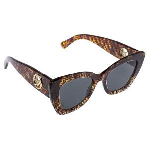 Fendi Havana FF / Gret F is Fendi 0327/S Cat-Eye Sunglasses