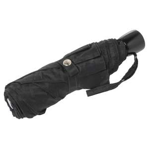 Fendi Black Zucca Folding Umbrella
