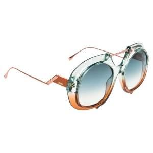 Fendi Tropical Shine FF 0316/S Aviator Sunglasses