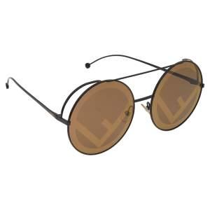 Fendi Brown FF 0285/S Round Sunglasses