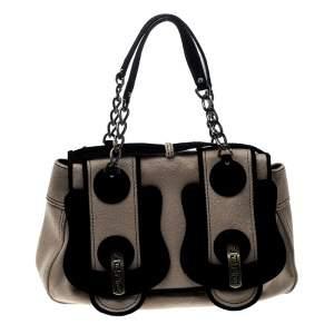 حقيبة فندي B جلد سوداء