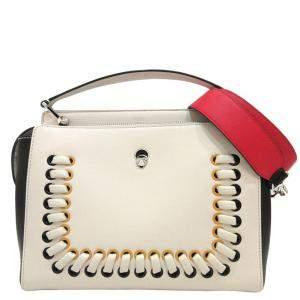 حقيبة فندي دوت كوم جلد متعددة الألوان