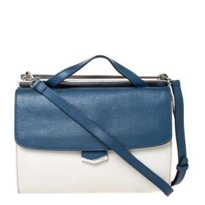Fendi Multicolor Leather Small Demi Jour Top Handle Bag