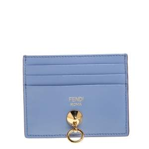 Fendi Multicolor Leather By The Way Card Holder
