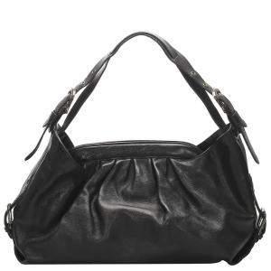 Fendi Black Leather Doctor B Bag