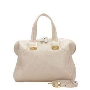 Fendi Pink/Light Pink Leather Chameleon Shoulder Bag