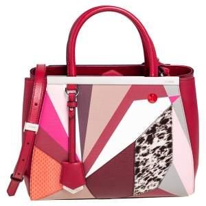حقيبة يد توتس فندي ميكسيد ميديا 2جور تويست متعدد الألوان صغيرة